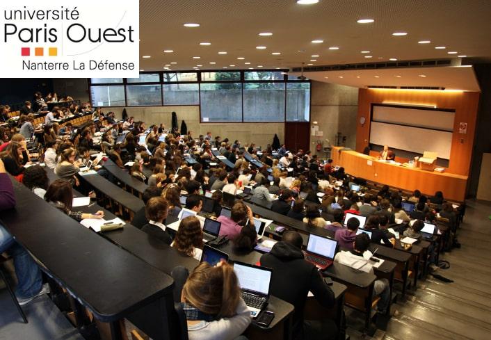 Fournisseur de l'université Paris Ouest Nanterre la Défense