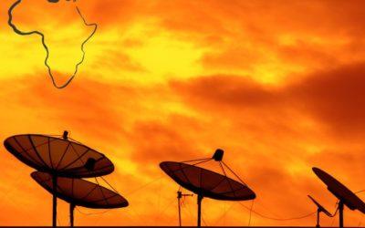 Mise en place de notre 3ème montée satellite en Afrique