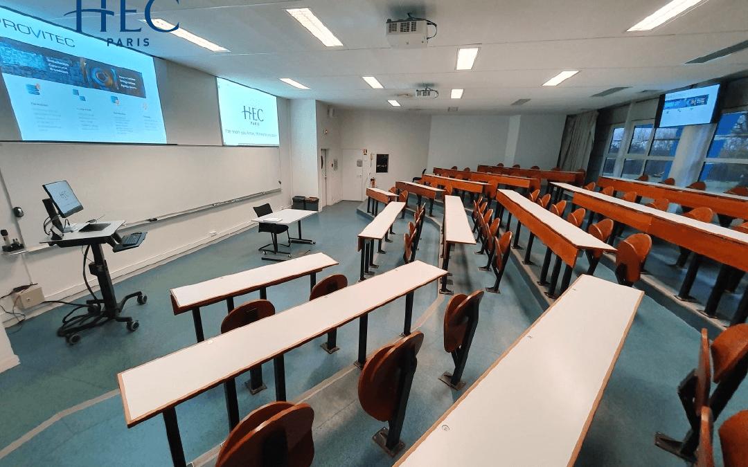 Renovation de salles de cours et d amphitheatres sur le site HEC a Jouy-en-Josas
